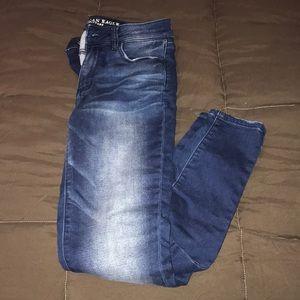 American Eagle denim super stretch jeans size 6